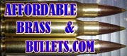 Affordable Brass and Bullets