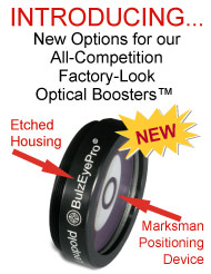 BulzEyePro All-Competition Optical Booster new features