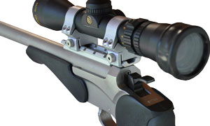 BulzEyePro Optical Booster Handgun booster on scope
