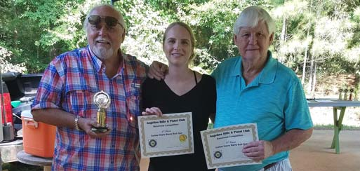 Angelina Rifle and Pistol Club Benchrest Competition winners